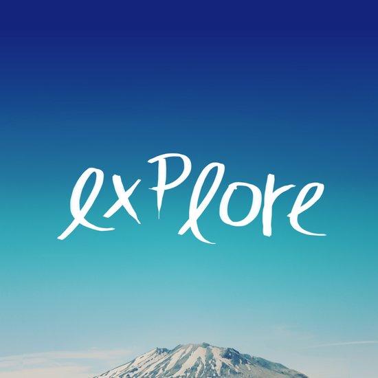 Explore: Mountain Art Print
