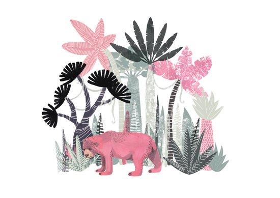 Mini Jungle  Art Print