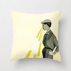 Observing Throw Pillow