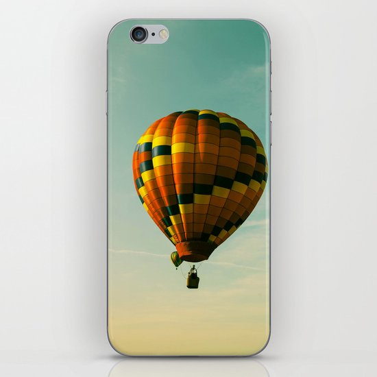 Touching The Tree Tops iPhone & iPod Skin