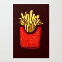 Would you like some fries with that? Canvas Print