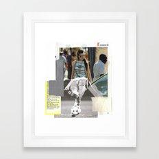 Football Fashion #17 Framed Art Print