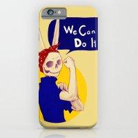 Female Bunnism iPhone 6 Slim Case