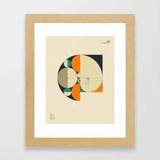 Phi: The Golden Ratio Framed Art Print