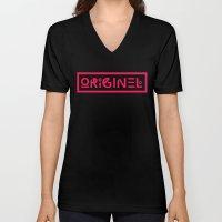 Originel Rouge Unisex V-Neck