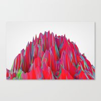 Cristal Mountain  Canvas Print
