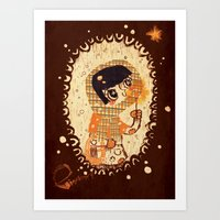 The Little Match Girl Art Print