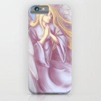 Lavender Angel iPhone 6 Slim Case