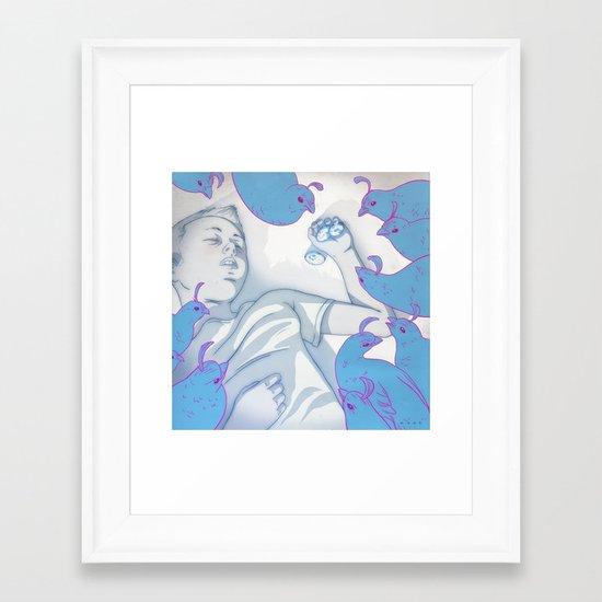 IdN: The Ark Project Framed Art Print
