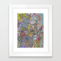 Ostara Framed Art Print