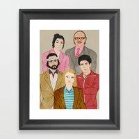 Royal Tenenbaums Framed Art Print