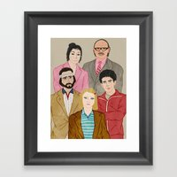 Royal Tenenbaums Framed Art Print
