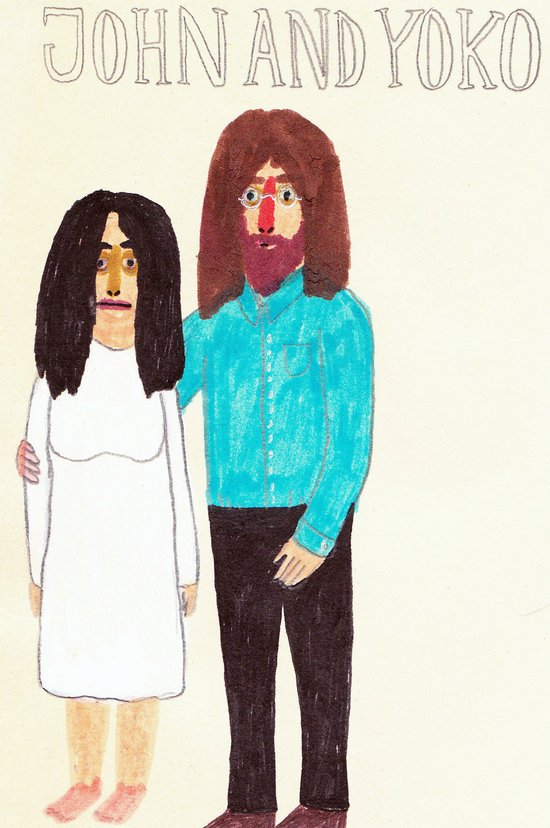 John & Yoko Art Print