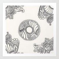Art Deco-ish Art Print