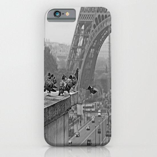 pigeons parisien iPhone & iPod Case