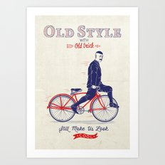 Old Style Trick Art Print
