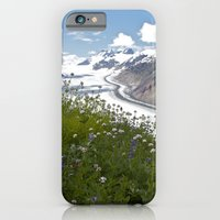 iPhone & iPod Case featuring Glacial Flowers by Todd Langland