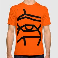 SMBB92 Mens Fitted Tee Orange SMALL