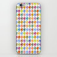 Houndstooth!  iPhone & iPod Skin