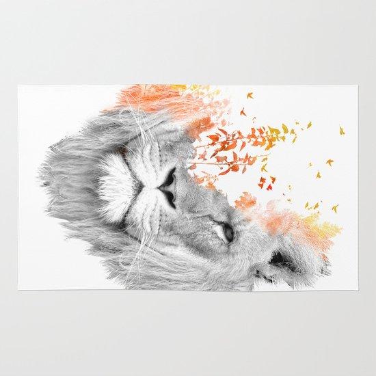 If I roar (The King Lion) Area & Throw Rug