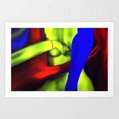 The Rape of Venus Art Print