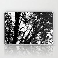 Pecan Tree Silhouette Laptop & iPad Skin