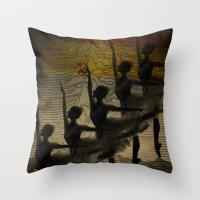 Bailarina, Diz Pra Mim, … Throw Pillow