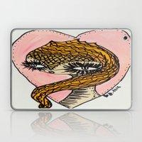 Pink Owl Grrrl Heart Laptop & iPad Skin