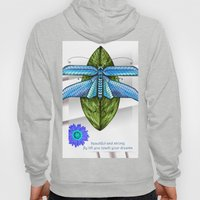 Dragonfly To The Clouds Hoody