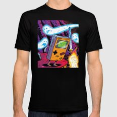 The Legend of Gameboy SMALL Black Mens Fitted Tee