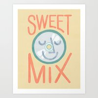 Sweet Mix Art Print