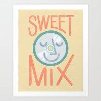 Sweet Mix Art Print