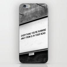 BILLBOARD FANTASIES #2 iPhone & iPod Skin