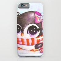 Snowy penguin  iPhone 6 Slim Case