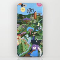 Sleeping Giants iPhone & iPod Skin