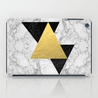 Marble Tri Black & Gold … iPad Case