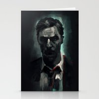 Rust Cohle Stationery Cards