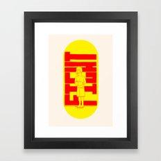 Fight Framed Art Print