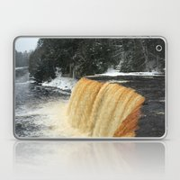 Wintry Waterfall Laptop & iPad Skin