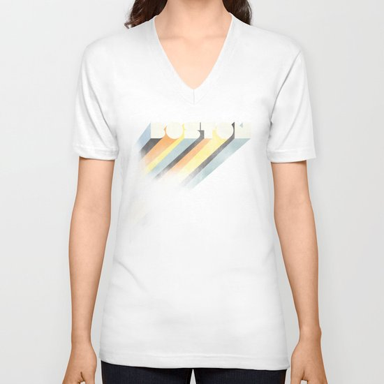 Boston : Resilient V-neck T-shirt