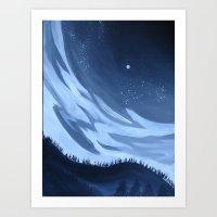 Distance Binds Us Art Print