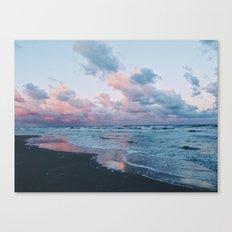 Morning Beach Canvas Print