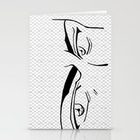 Doubt Eyes Stationery Cards