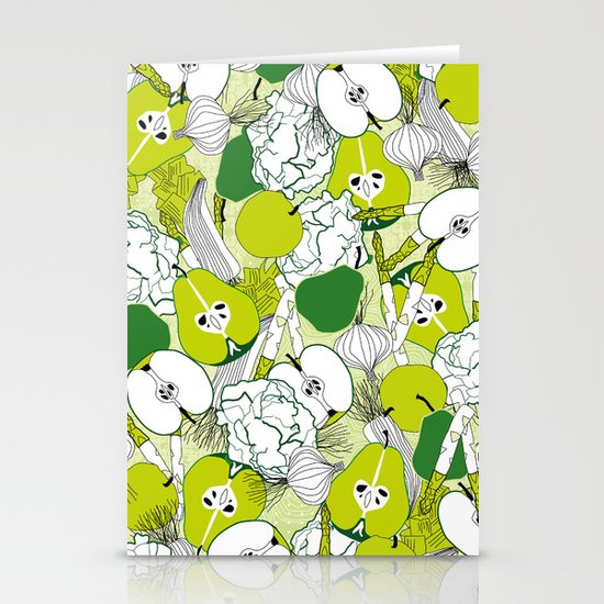 Vegetable pattern Stationery Card