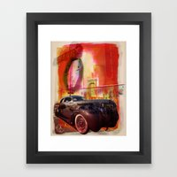Welcome To Asbury Park Framed Art Print