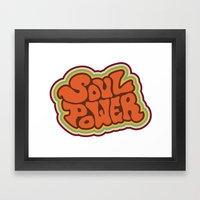 Soul Power Framed Art Print
