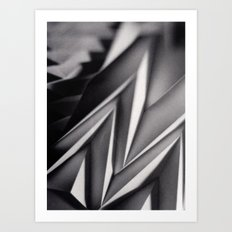 Paper Sculpture #8 Art Print