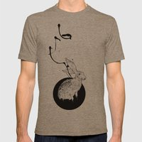 hare Mens Fitted Tee Tri-Coffee SMALL