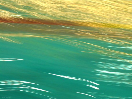 Floating Water Canvas Print