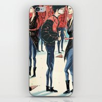Hipster Party iPhone & iPod Skin